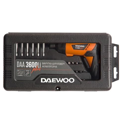Акумуляторна викрутка Daewoo DAA 3600Li PLUS
