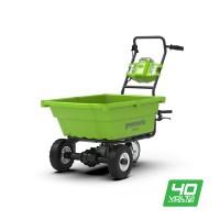 Садовий візок самохідний акумуляторний Greenworks G40GC