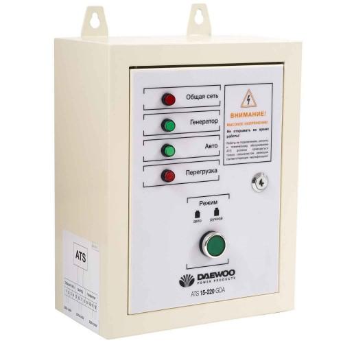 Блок автоматичного керування генератором Daewoo ATS 15-220 GDA Master Line