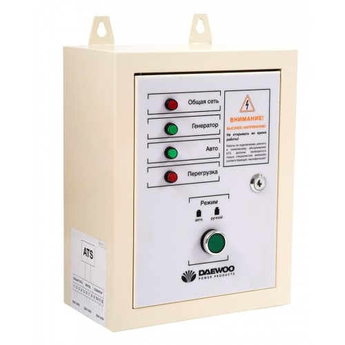 Блок автоматичного керування генератором Daewoo ATS 15-DDAE DSE Expert line