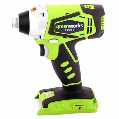 Гвинтоверт ударний акумуляторний Greenworks G24ID без АКБ і ЗП