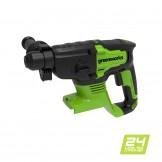 Перфоратор акумуляторний Greenworks GD24SDS2