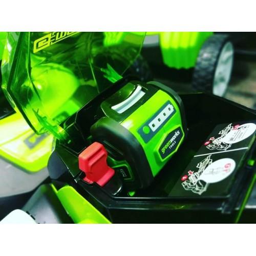 Газонокосарка акумуляторна Greenworks G40LM35К2 з АКБ 2 Ah і ЗУ