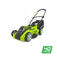 Газонокосарка акумуляторна Greenworks G40LM40