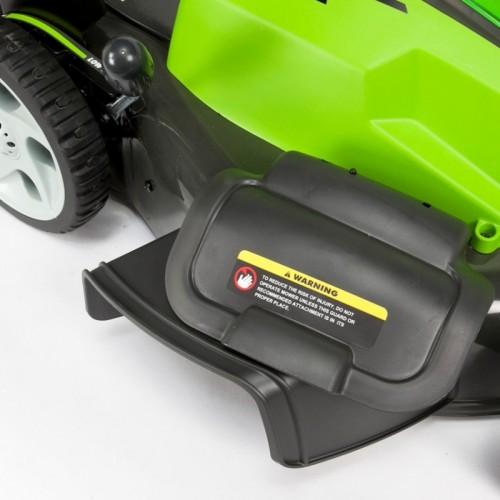 Газонокосарка акумуляторна Greenworks G40LM45K4 з АКБ 4 Ah і ЗП