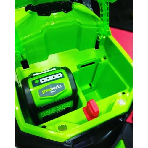 Газонокосарка акумуляторна Greenworks GD40LM46SPK4x з АКБ 4 А∙год і ЗП