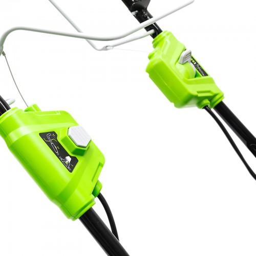 Газонокосарка акумуляторна Greenworks GD40LM46SPK4x з АКБ 4 Ah і ЗП