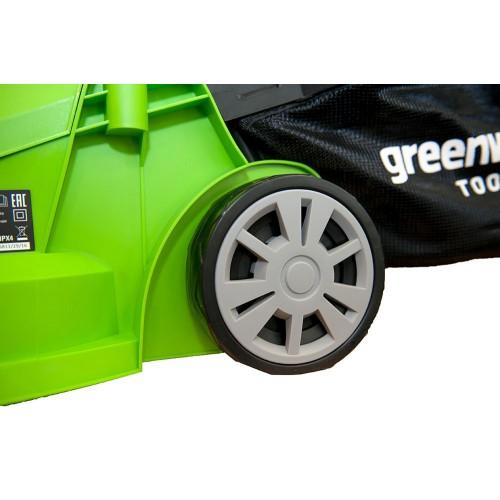 Газонокосарка електрична Greenworks GLM1232 230 В