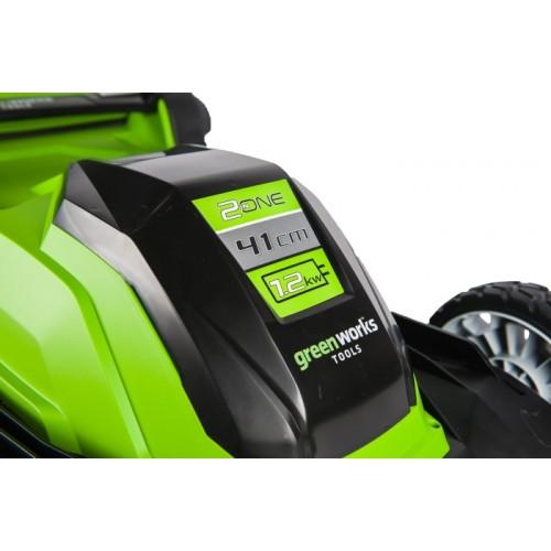 Газонокосарка електрична Greenworks GLM1241 230 В