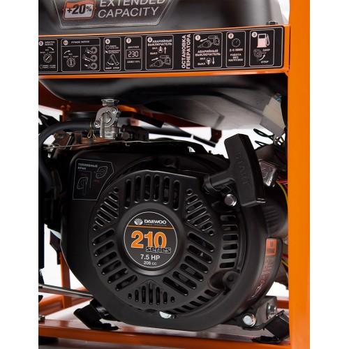 Бензиновий електрогенератор Daewoo GDA 3800E Master Line