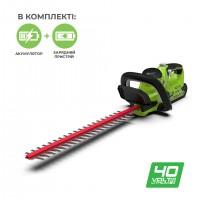 Кущоріз акумуляторний Greenworks G40HT61K2