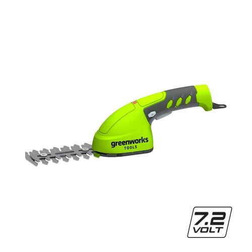 Ножиці акумуляторні садові Greenworks G7,2GS з АКБ і ЗП
