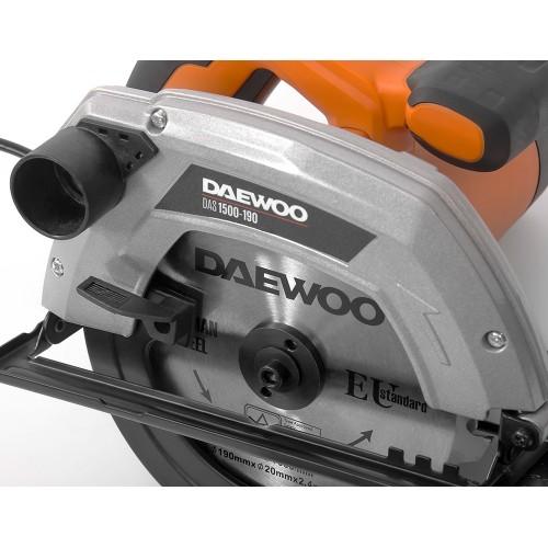 Пила циркулярна Daewoo DAS 1500-190 Master Line