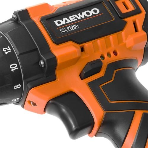 Шуруповерт акумуляторний Daewoo DAA 2120Li Expert line
