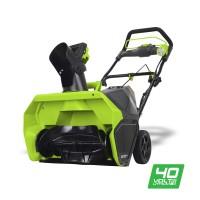 Снігоприбирач акумуляторний Greenworks GD40ST