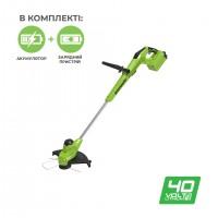 Тример акумуляторний Greenworks G40T5K2